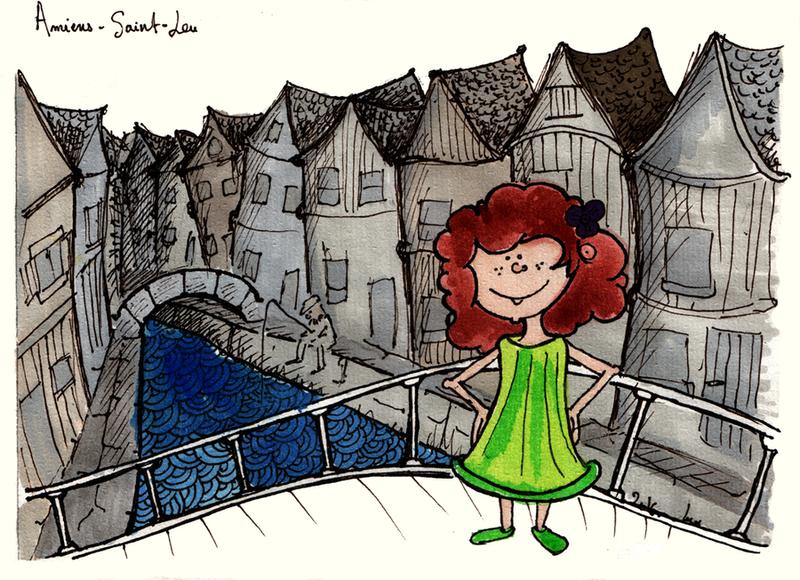 carte postale Amiens